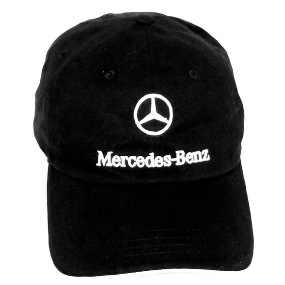 06a7c21c Mercedes Benz Accessories | Nwot Black Embroidered Baseball Cap ...